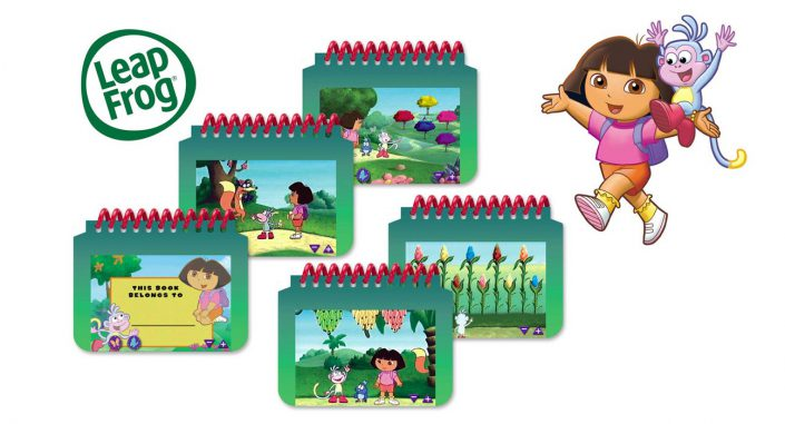 Dora interactive book designer large 1