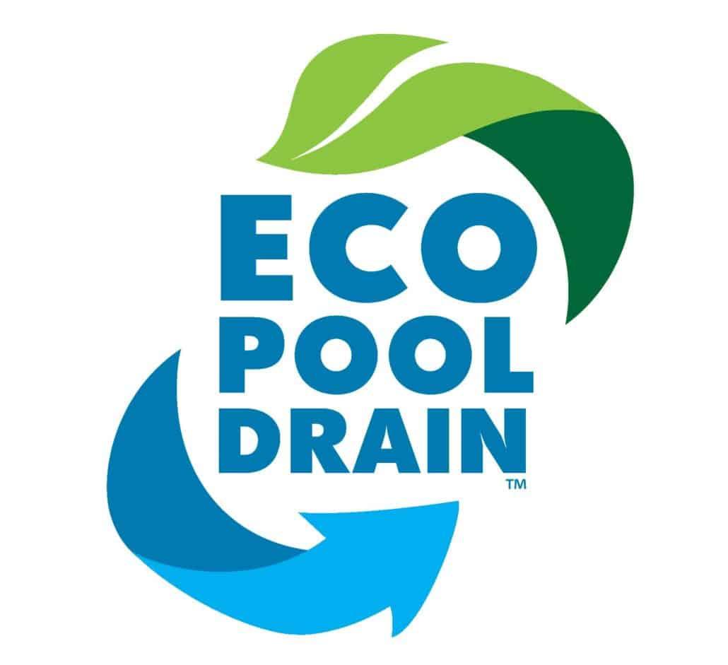 Eco pool drain logo design