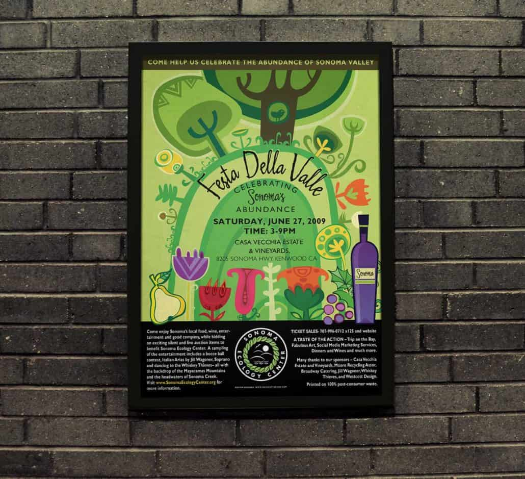 Ecology center poster design