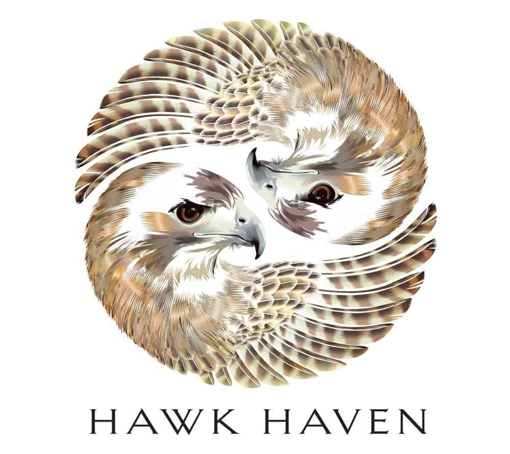 Hawk haven wine logo designer large 1