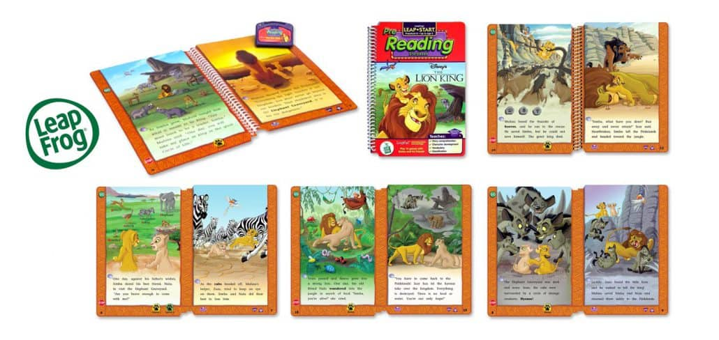 Lion king interactive book designer large 1