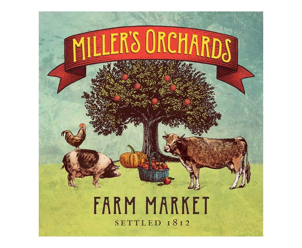 Millers Orchard logo designer large 1