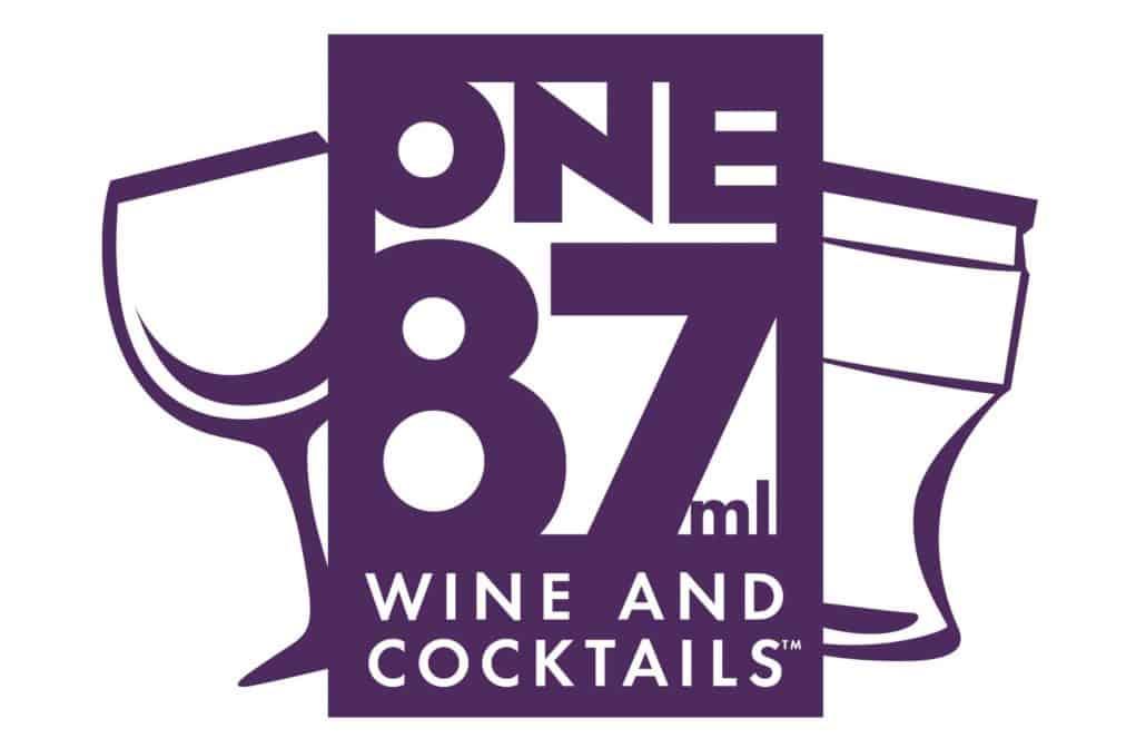 One87 wine cocktails logo designer
