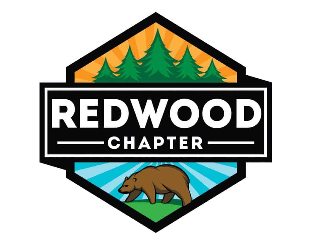 Redwood chapter environmental logo design