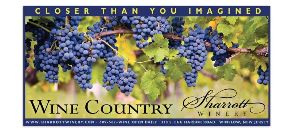 Sharrott wine ad