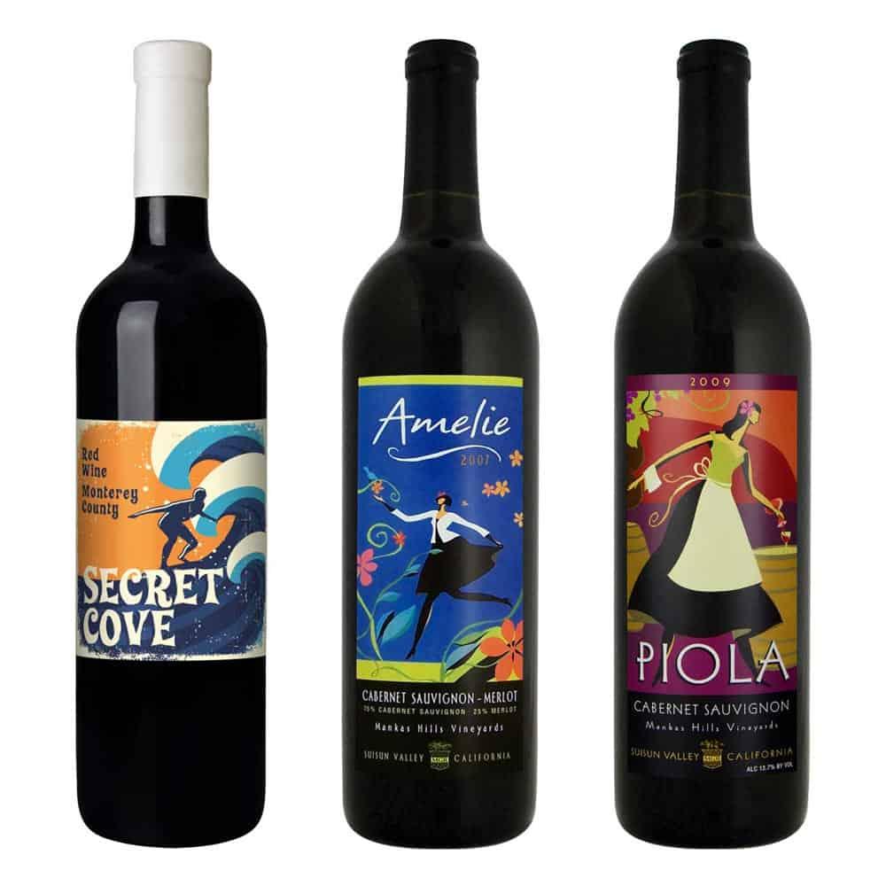 Surfer piola wine packaging designer large 2