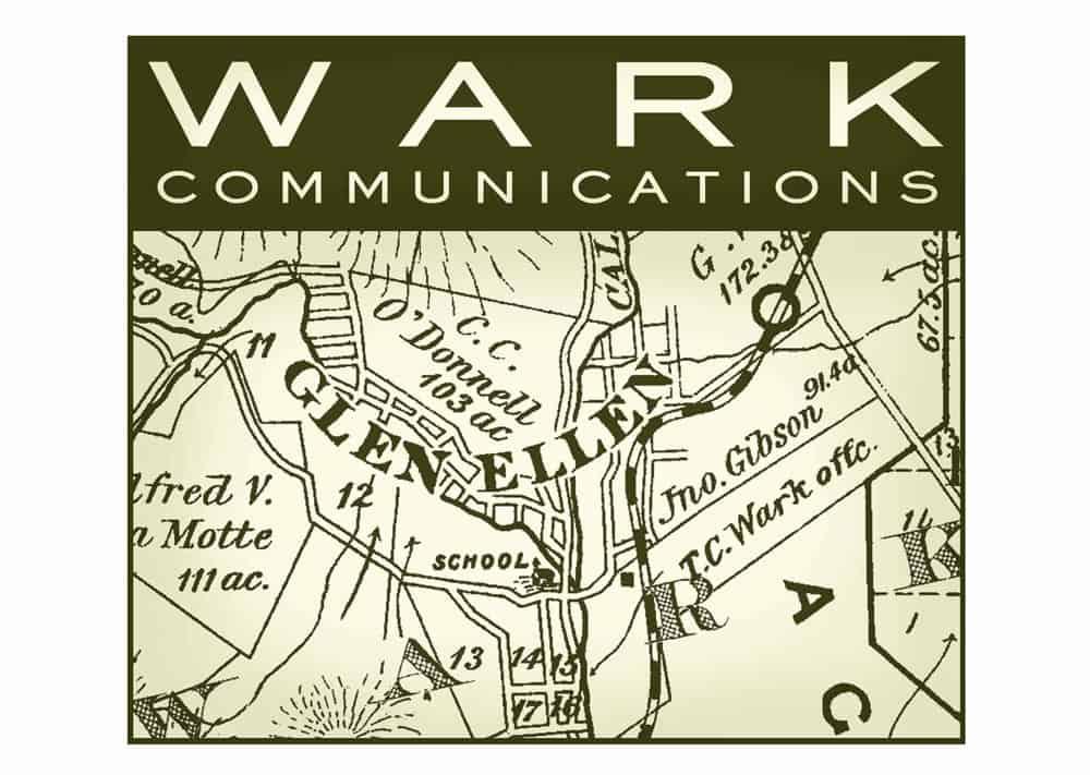 Wark communications logo design large 1