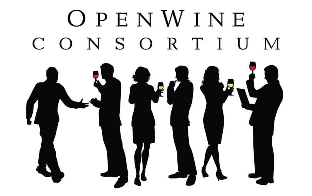 Wine Consortium logo design
