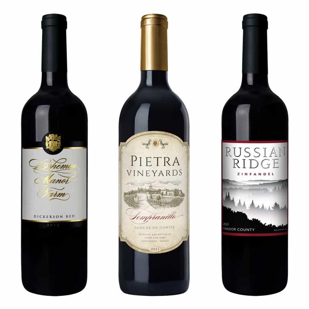bohemia manor wine label design large 1 1