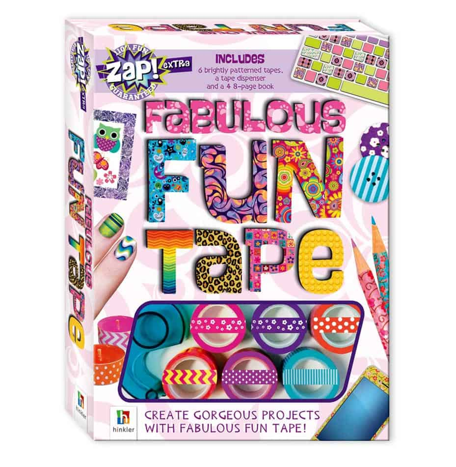 fabulous fun tape craft book design large 1