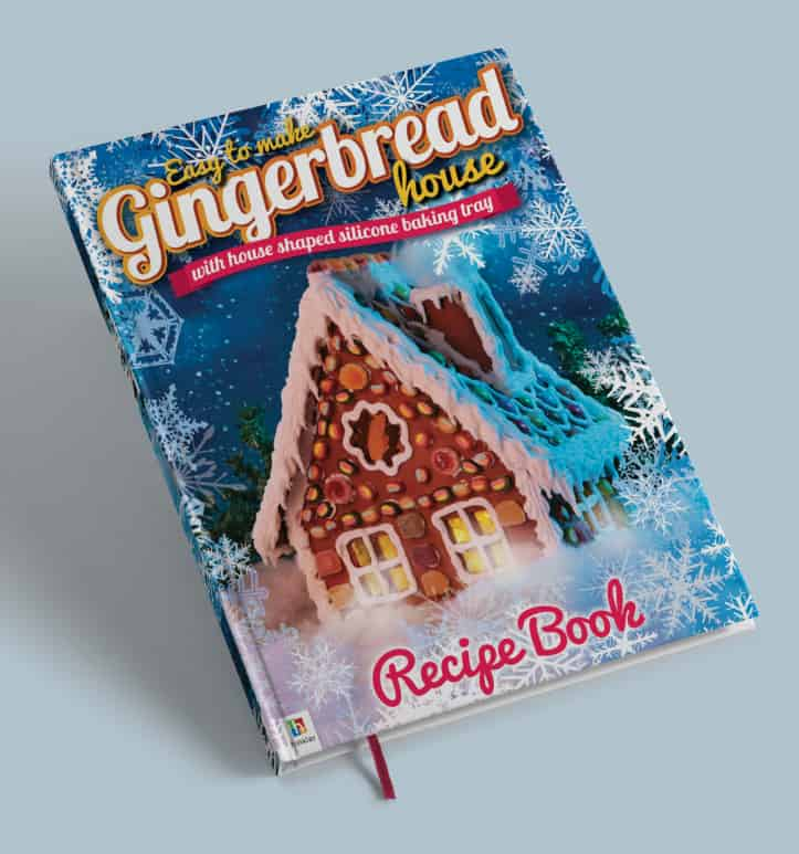gingerbread house book cover design