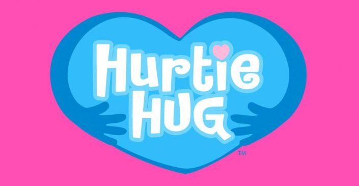 hurtie hug toy logo graphic designers 1