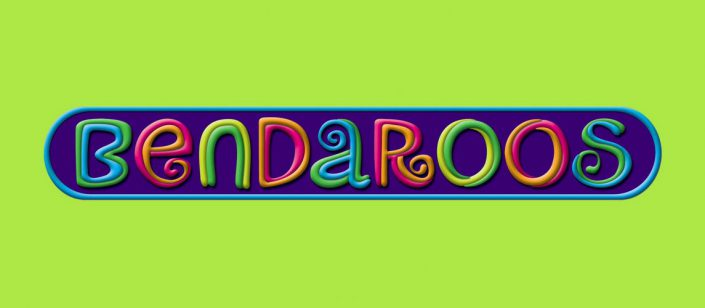 kid products logo design bendaroos 1