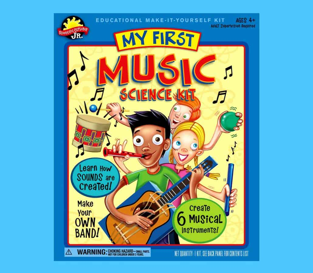 music toy craft package design 1