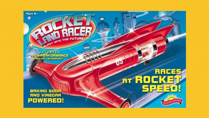 toy package design Rocket Land Racer large 1