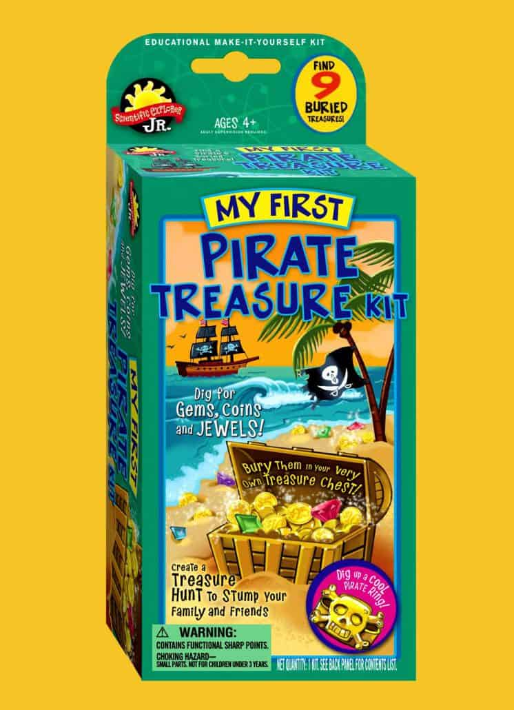 toy package design pirate treasure 1