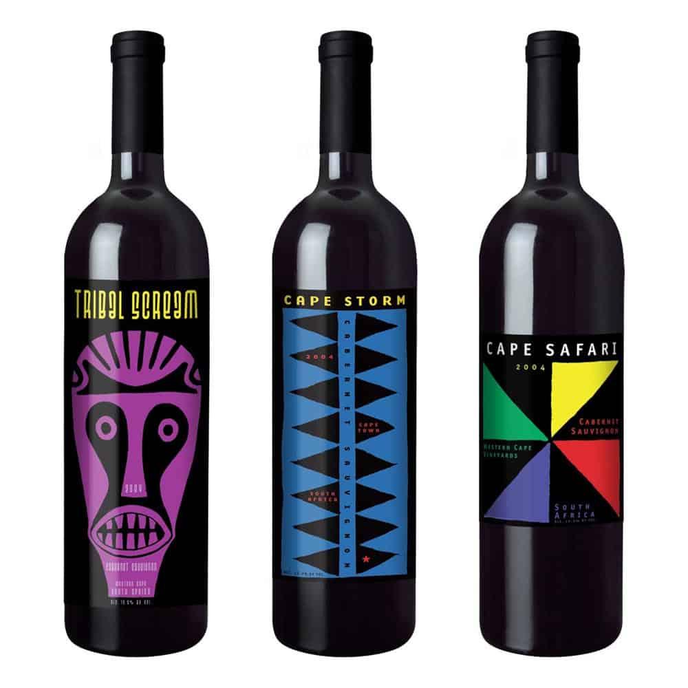 wine label design african wine large 1 1