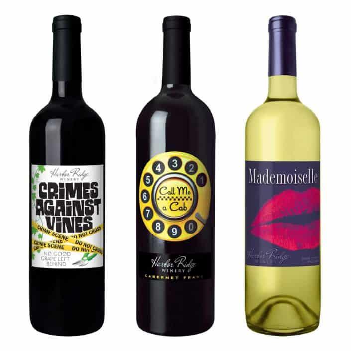 wine label design call me cab large 2