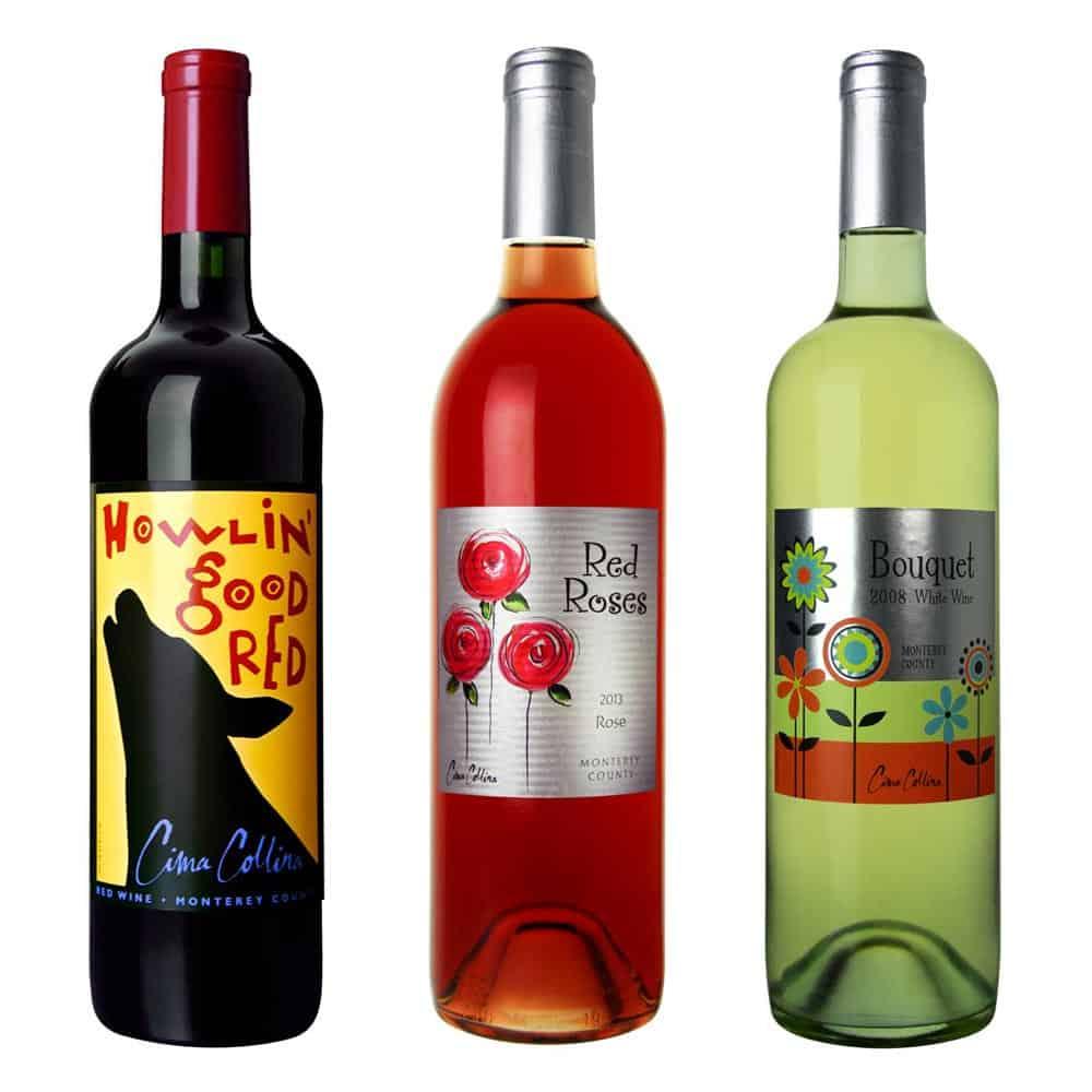 wine label design charity ASPCA large 1 1