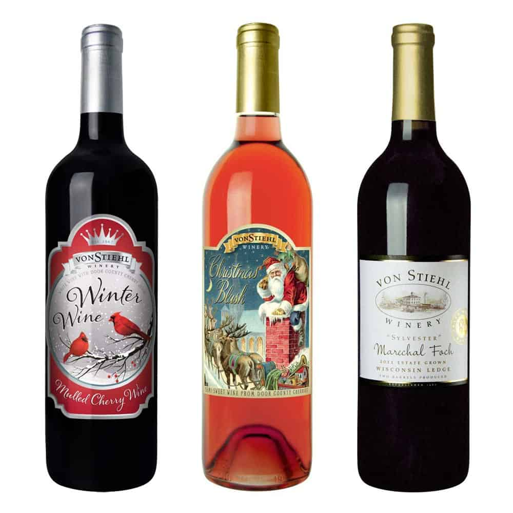 wine label design christmas large 2