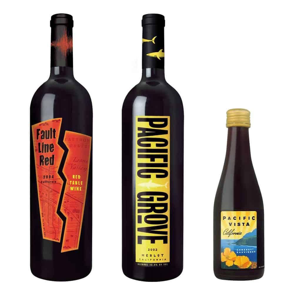 wine label design fault line wente large 1 1