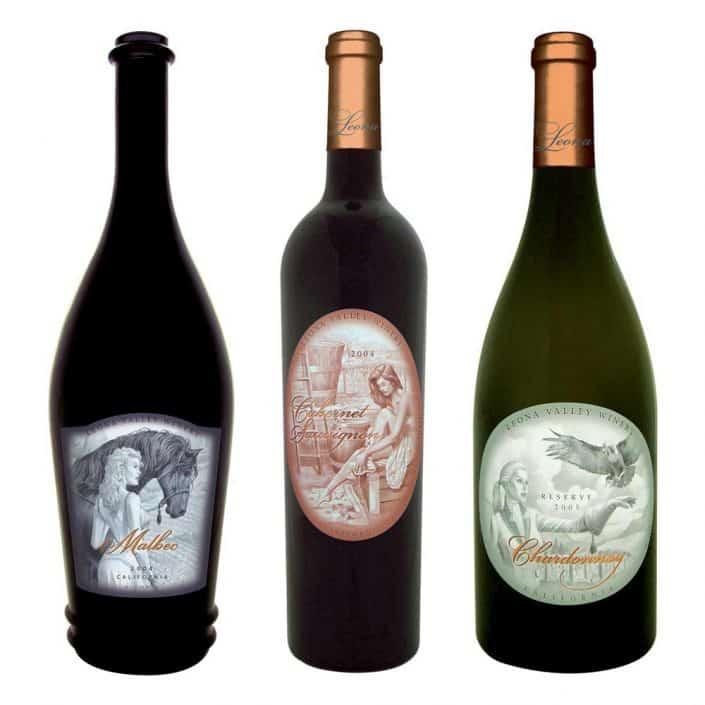 wine label design horses large 1 1