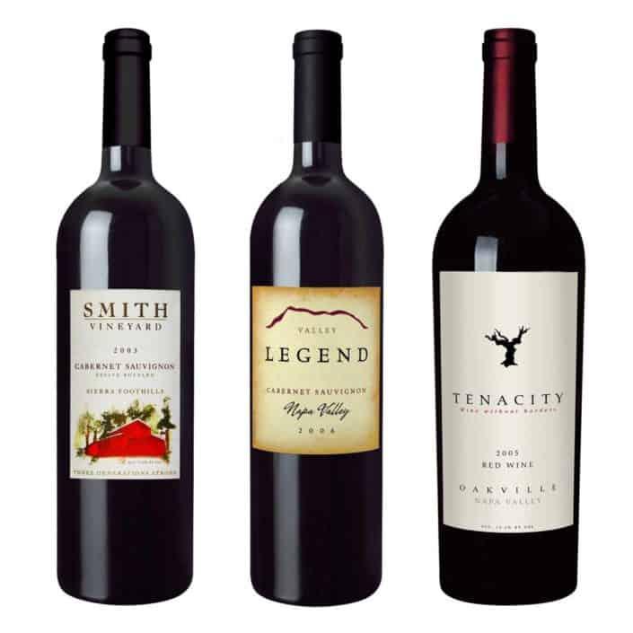 wine label design legend tenacity