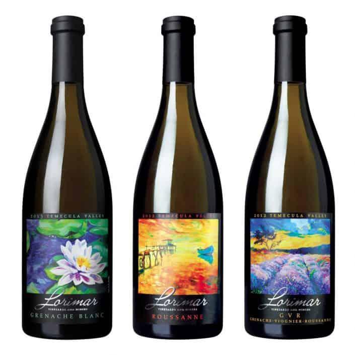 wine label design lorimar grenache lare 2