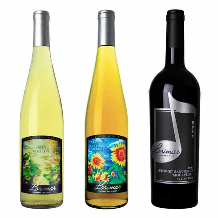 wine label design lorimar music large 2