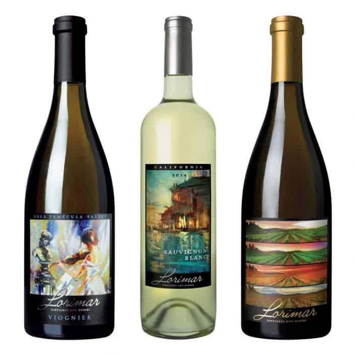 wine label design lorimar viognier large 2