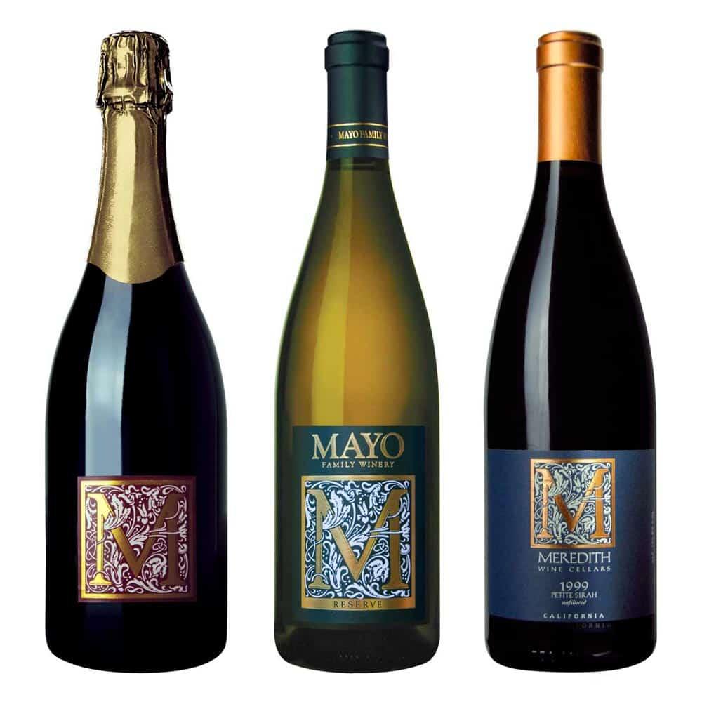 wine label design mayo