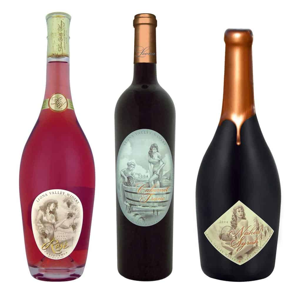 wine label design naked syrah large 2