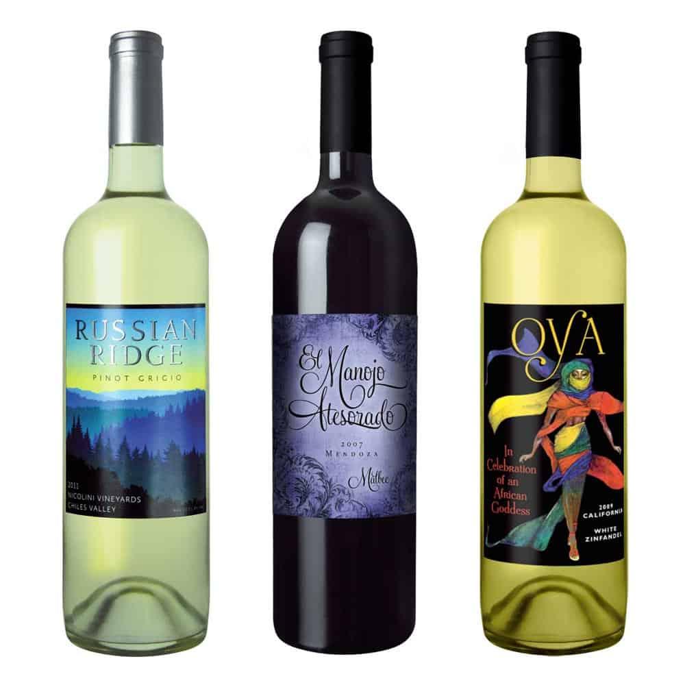 wine label design russian large 2