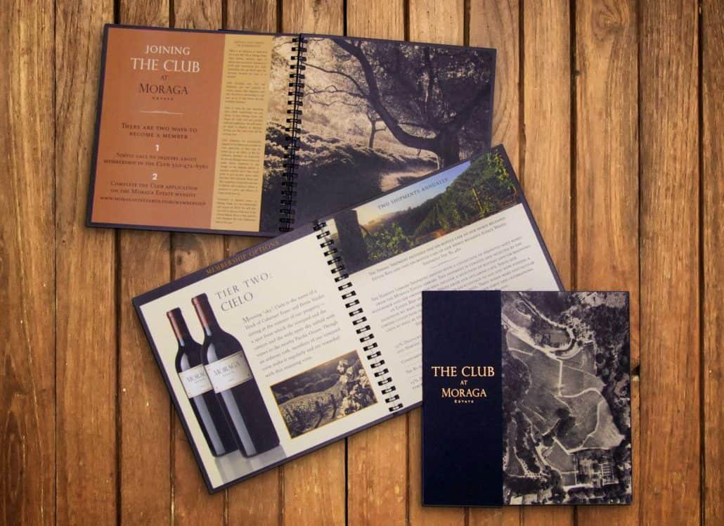 Moraga estates brochure designer