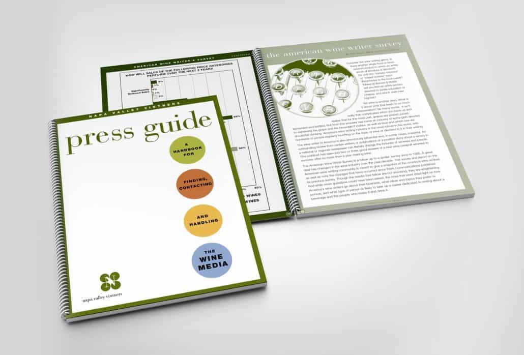 Nap Valley Vintners brochure design